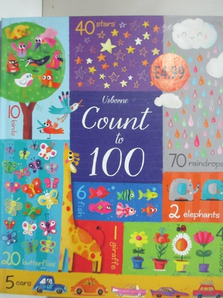 【書寶二手書T6/少年童書_I8O】Count To 100_Felicity Brooks,Sophia Touliatou (ILT)