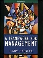 二手書博民逛書店《A Framework for Management (2nd