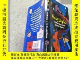 二手書博民逛書店the罕見mystery of the strange bundle奇怪包袱的奧秘Y200392