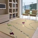 范登伯格 堤香 簡約時尚地毯-花語(棕)-160x230cm