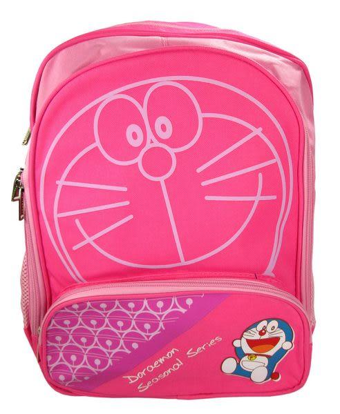 【卡漫城】 Doraemon 後背包 粉 大臉 約39cm高 ㊣版 護脊排汗 小叮噹 哆啦A夢 大於A4 大書包
