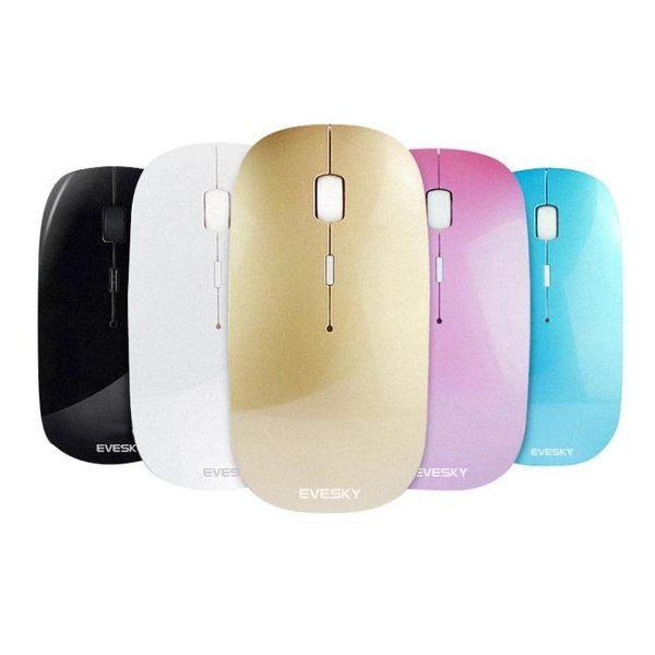 充電滑鼠無線超薄筆電滑鼠靜音一件免運XW