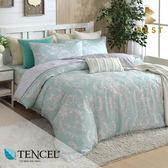 天絲床包兩用被四件式 雙人5x6.2尺 溫特 100%頂級天絲 萊賽爾 附正天絲吊牌 BEST寢飾