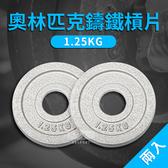 奧林匹克專用槓片(1.25kg*2)/烤漆槓片