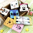 【Disney 】可愛方形雙面折疊鏡/化...