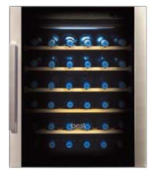 【歐雅系統廚具】BEST 貝斯特 WE-555-L 左把手 嵌入式雙溫冷藏酒櫃