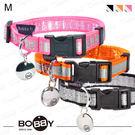 狗日子法國《BOBBY》銀翼項圈 M號 炫閃新設計 方便扣環 小型犬項圈