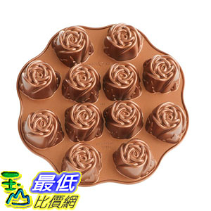 [美國直購]  Nordic Ware Nonstick Sweetheart Rose Baking Pan 蛋糕模具