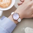手錶女2021年新款初中生高中生簡約氣質防水石英小眾靜音電子手錶 小時光生活館