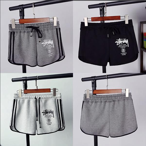 短褲-Tirlo-側邊條紋設計運動風小短褲-三色(現+追加預計5-7工作天出貨)