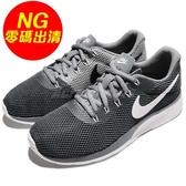 【US7-NG出清】Nike 休閒鞋 Wmns Tanjun Racer 左鞋面勾勾黃 鞋底髒污 灰 黑 運動鞋 女鞋【PUMP306】