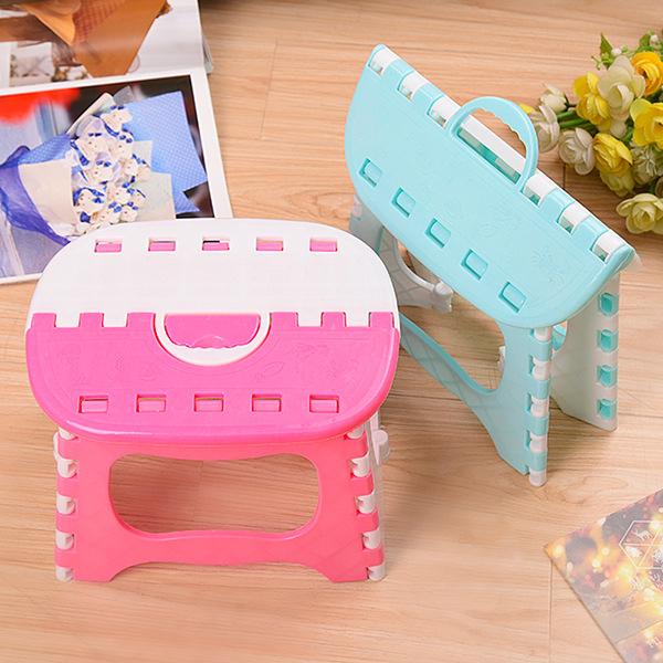 BO雜貨【SV9612】可摺疊 手提 便攜式折疊椅  手提塑膠小板凳 戶外露營 野餐 釣魚 烤肉椅 旅行戶外