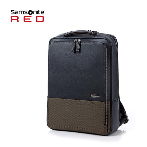 特價 Samsonite RED 新秀麗【DAWONE HE8】15.6吋筆電後背包 方正外型 可插掛行李箱 減壓背帶+好禮