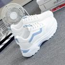 休閒鞋女 溫州爆款運動鞋女新款女鞋子學生韓版平底老爹鞋休閑跑步鞋