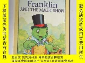 二手書博民逛書店franklin罕見and the magic showY200