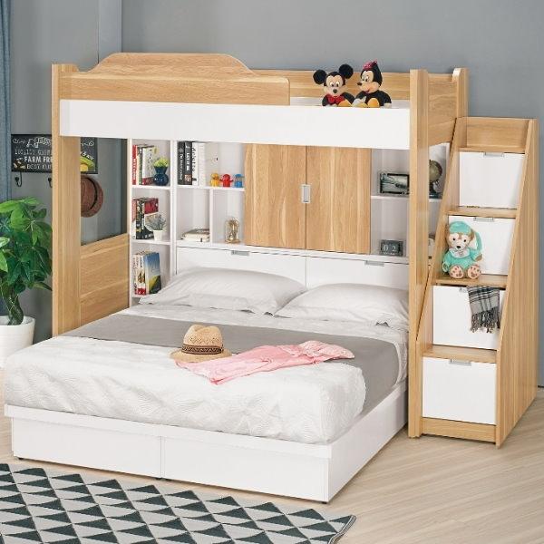 床架 高架床 MK-694-1 卡爾7.1尺多功能五件式床組 (不含床墊) 【大眾家居舘】