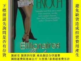 二手書博民逛書店英文原版罕見Billionaires Prefer Blonde