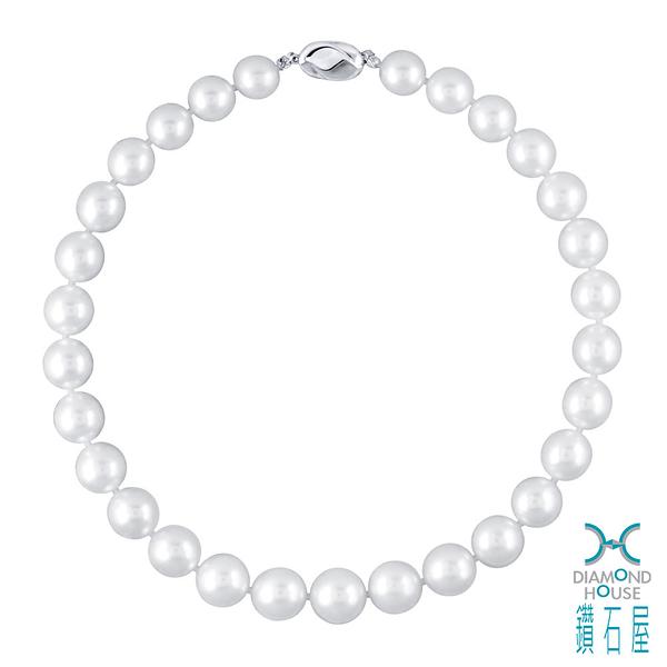 【鑽石屋】天然南洋珠項鍊