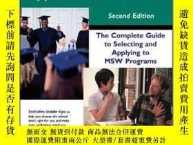二手書博民逛書店罕見ye-9781929109142-The Social Work Graduate School Applic