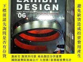 二手書博民逛書店英文原版罕見(日英雙語) exhibit design .Y20