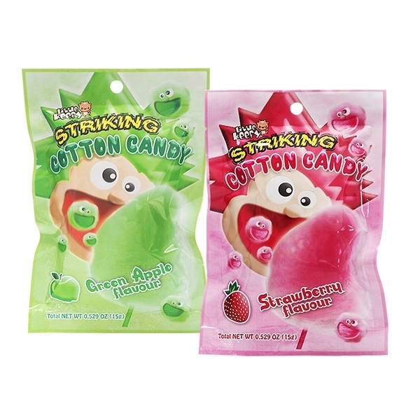 印尼 STRIKING 索勁 夢幻棉花糖(15g) 青蘋果/草莓 兩款可選 【小三美日】
