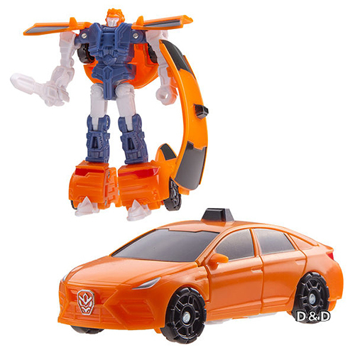 《 CARBOT 》迷你衝鋒戰士-Taxi亞提 / JOYBUS玩具百貨