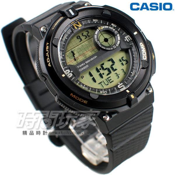CASIO卡西歐SGW-600H-9A 大錶面 LED照明 電子錶 SGW-600H-9ADR 男錶 中性錶 運動錶 學生錶 日期 計時碼表