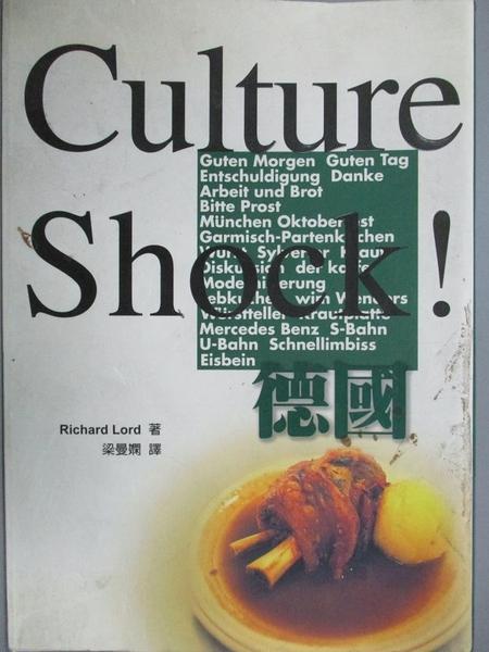 【書寶二手書T8/地理_KLC】Culture Shock!德國_Richard Lord