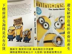 二手書博民逛書店minions罕見the junior novel 《奴才》初級 小說..Y200392