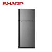 [SHARP 夏普]541公升 炫銀鋼板 變頻雙門電冰箱 SJ-SD54V-SL【加贈 奇美14吋DC立扇 DF-14G0ST】