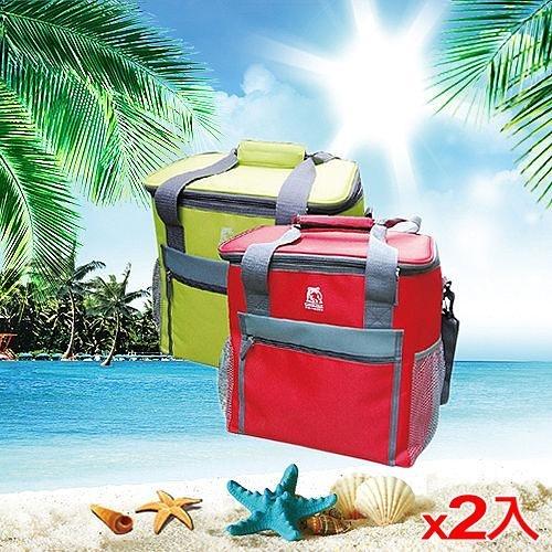 2件超值組GRIZZLY保冷袋GLB1900R-紅19L【愛買】