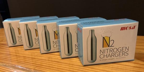 Bubbling Plus 驚奇瓶 - Mosa N2 純氮氣補充包 1盒 / 10顆入 5盒特惠組
