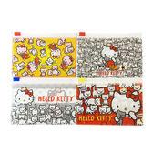 【KP】Hello Kitty 蝴蝶結滿版拉鍊袋 三麗鷗 4入組 夾鏈袋 日本進口正版授權 4991567264218