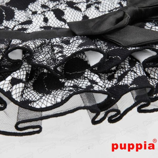 狗日子《Puppia》公主禮服洋裝 L號 黑/白