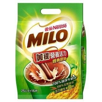 雀巢 美祿 經典原味巧克力麥芽飲品 (25gX16入)/袋【康鄰超市】