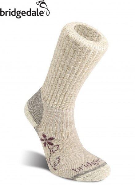 Bridgedale 英國 TK健行者 美麗諾-中厚 女 S 淺棕 627 登山襪子 健行襪 排汗襪 保暖襪 [易遨遊]