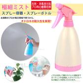 kiret 韓版 可愛 400ML 多用途 噴水 噴瓶 噴霧瓶-超值2入