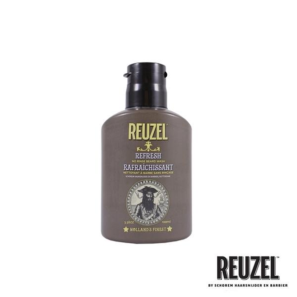 REUZEL Beard Wash 免沖保濕潔淨鬍鬚泡沬 100ml