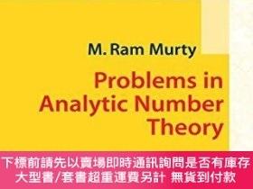 二手書博民逛書店Problems罕見In Analytic Number TheoryY255174 M. Ram Murty