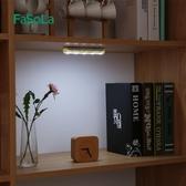 日本免線櫥櫃燈櫃子led衣櫃燈開關櫃底燈 車內宿舍無線按壓小夜燈 交換禮物 YXS