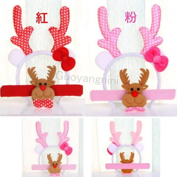 聖誕手環+髮箍二件組 聖誕禮物 拍拍圈 捲尺圈 小玩具 裝飾  現貨2色-果漾妮妮【B668】