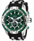 瑞士INVICTA手錶-Speedway賽道系列 綠色錶盤 三眼計時腕錶 石英錶 25938瑞士錶 男士手錶 英威塔男錶