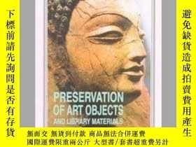 二手書博民逛書店Preservation罕見of Art Objects and