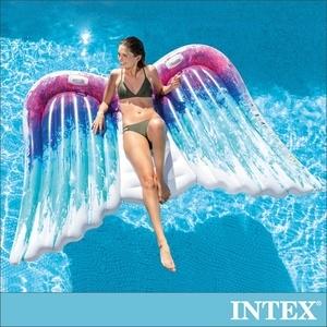 INTEX 天使之翼雙人戲水浮排(58786)