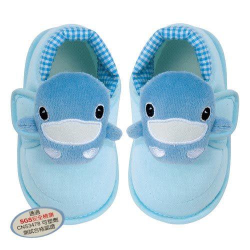 【奇買親子購物網】酷咕鴨KU.KU. 可愛造型學步鞋(藍色/粉色)