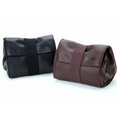 【ACAM78】ARTISAN & ARTIST 輕便相機皮革鏡頭袋(大) ACAM 78 顏色:黑/棕