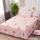 床罩床裙式單件床套席夢思床墊罩保護防滑防塵1.5m1.8米床單床笠 樂活生活館