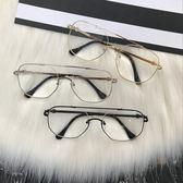 眼鏡框韓版男女2018配防輻射近視平光鏡百搭墨鏡大框架顯瘦素顏鏡 概念3C旗艦店