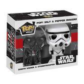 Funko POP!系列 Q版 星際大戰 Star Wars 黑武士與白兵 造型調味罐