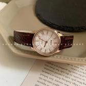 手錶NONOAN 韓版ins簡約手錶女學生CHIC復古文藝羅馬刻度皮帶石英女錶 玩趣3C